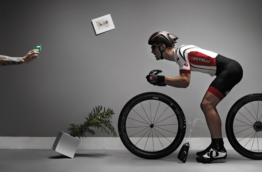 The cyclist photography