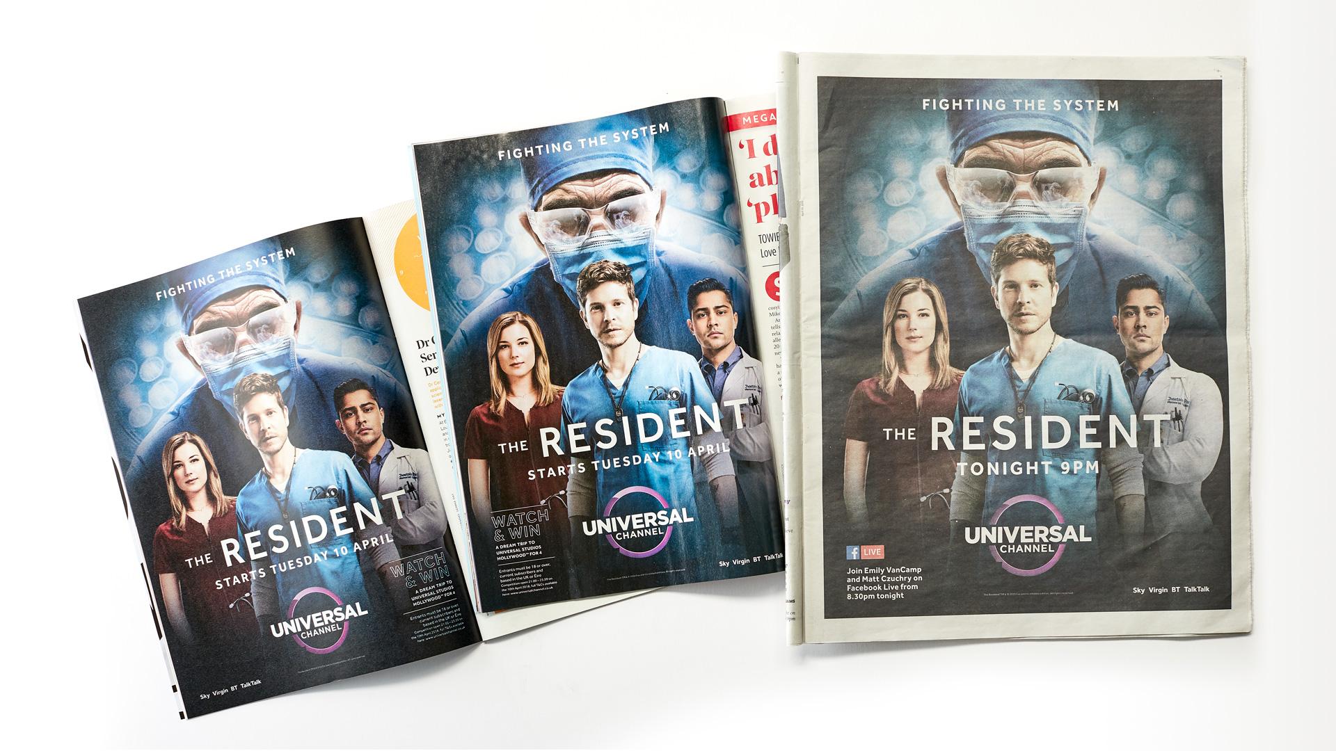 the-resident-repro-press-ad-nbc-universal
