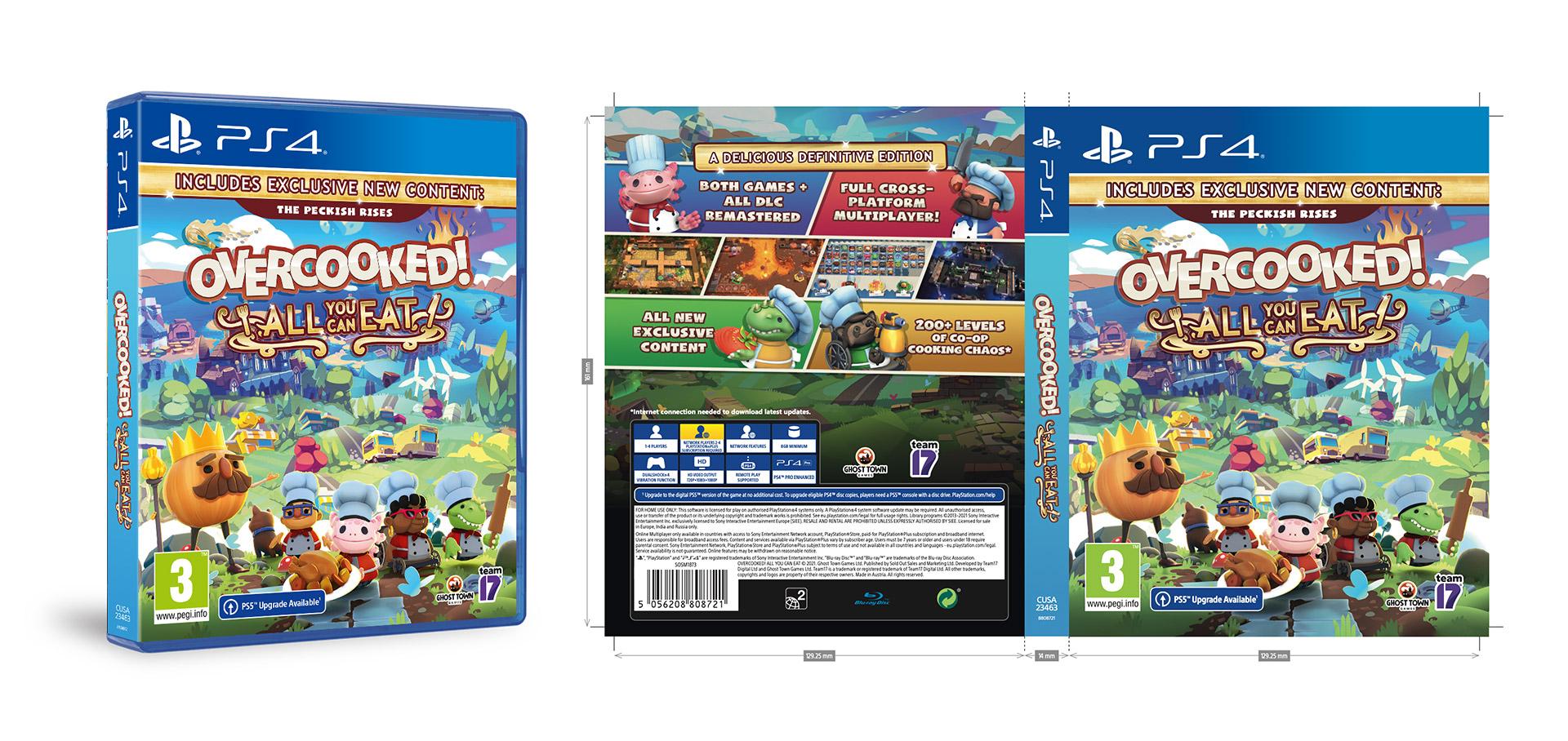 Video game reprographics artwork packaging