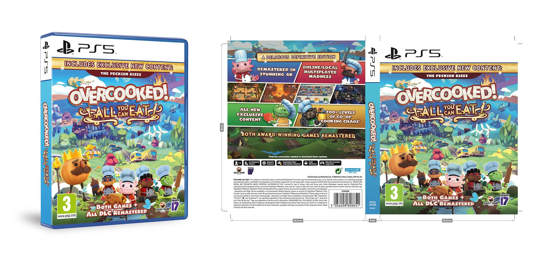 Reprographics packaging artwork video game