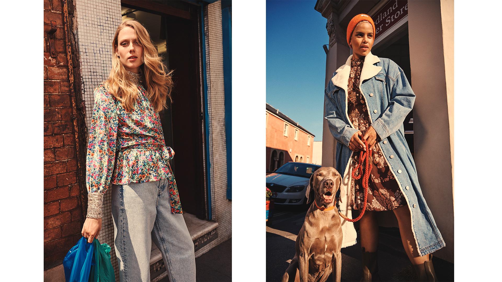 River Island clothing retail fashion retouching