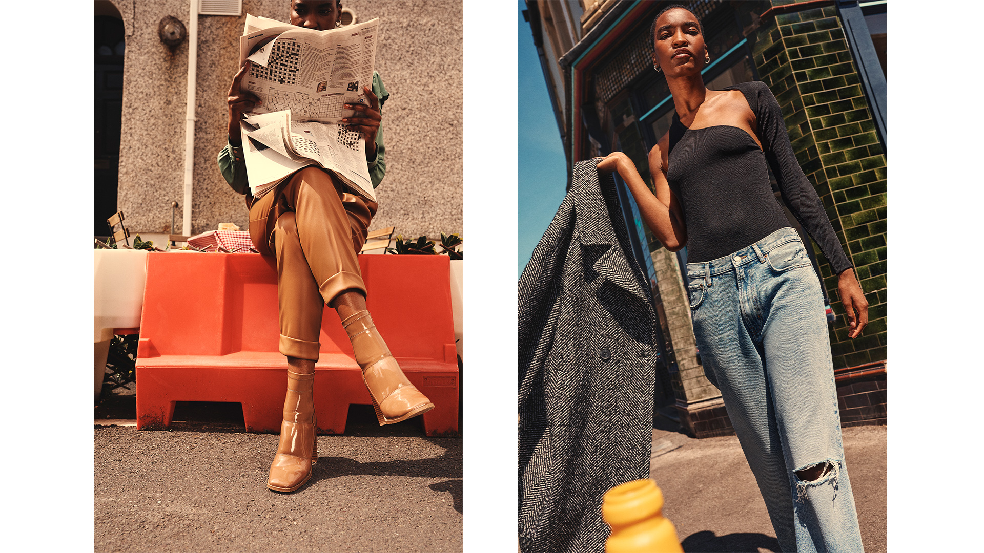 River island retouching fashion model shoot clothing