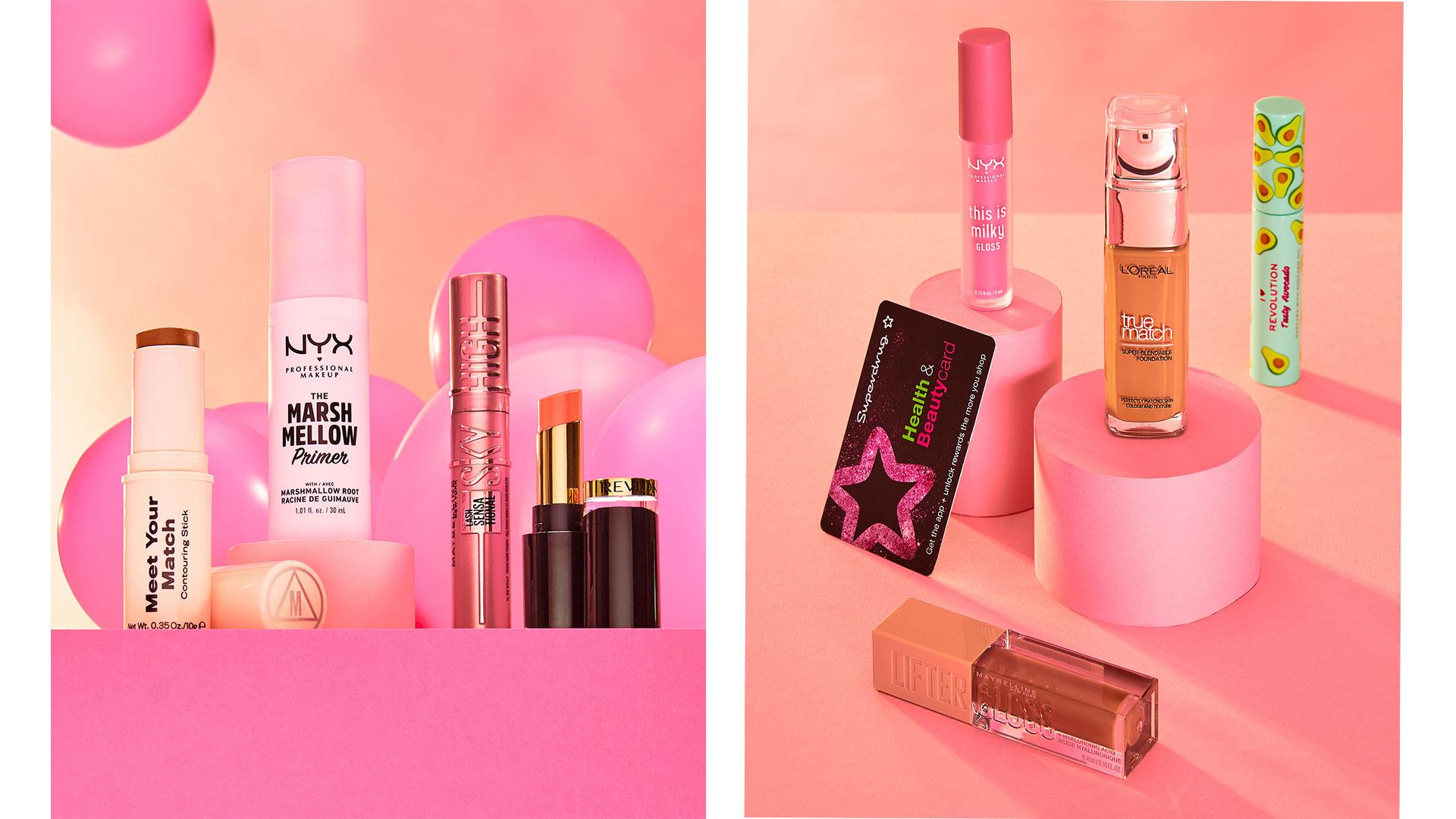 superdrug beauty cosmetics photography